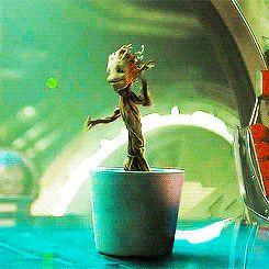 Guardiões da Galaxia Grood dançando