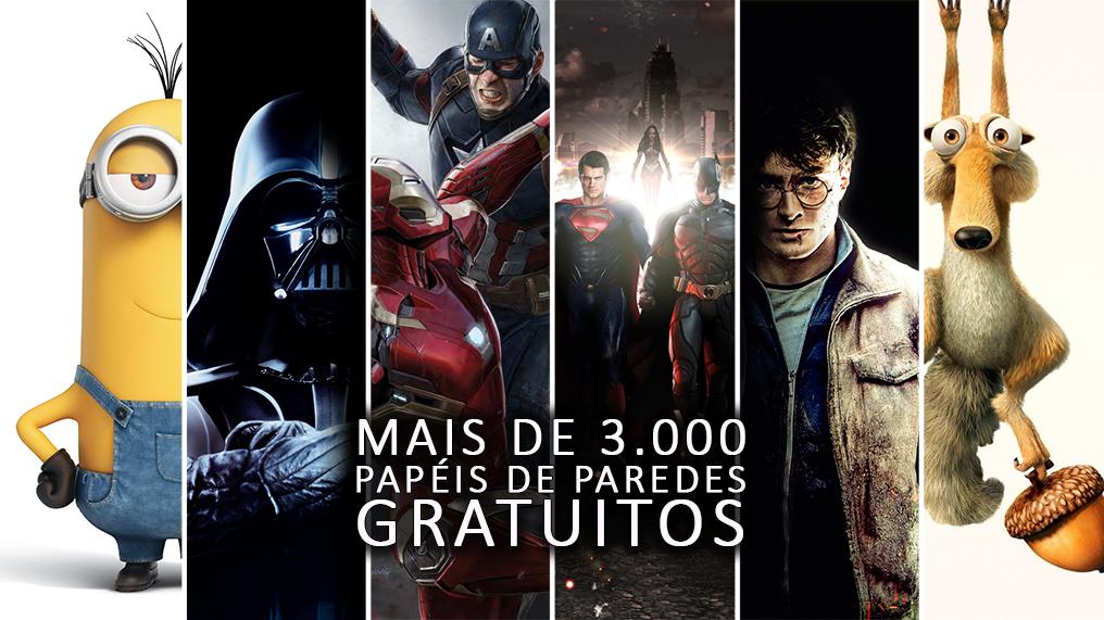 3.000 PAPÉIS DE PAREDES DE FILMES E SÉRIES