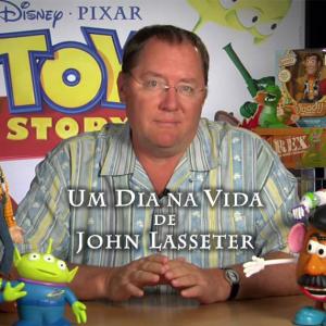 UM DIA NA VIDA DE JOHN LASSETER